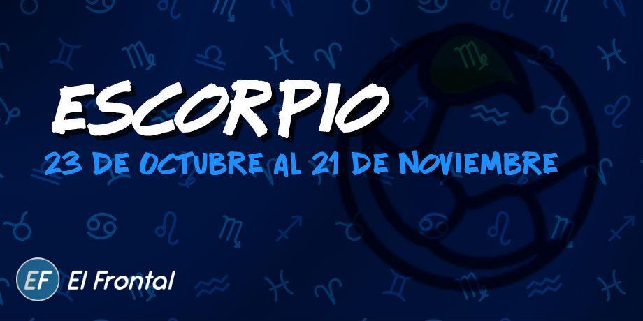 Horóscopo de Escorpio de hoy