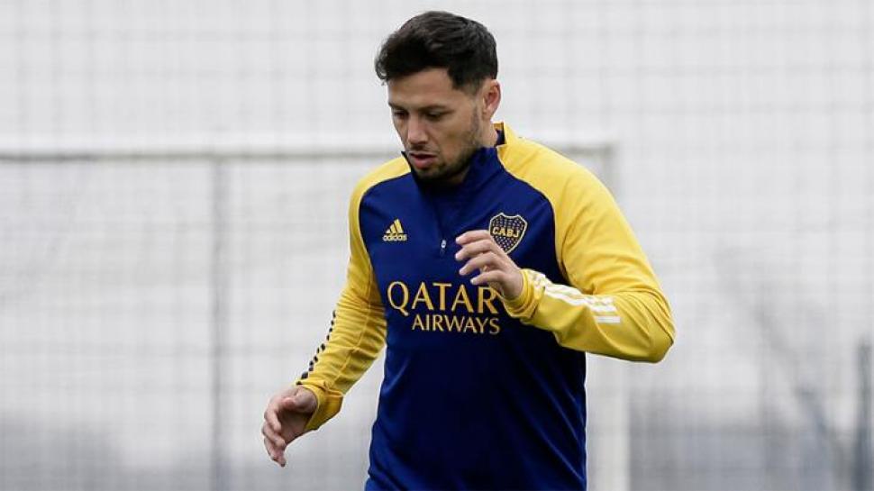 Preocupación en Boca: Mauro Zárate se retiró con una molestia de la práctica | El Frontal